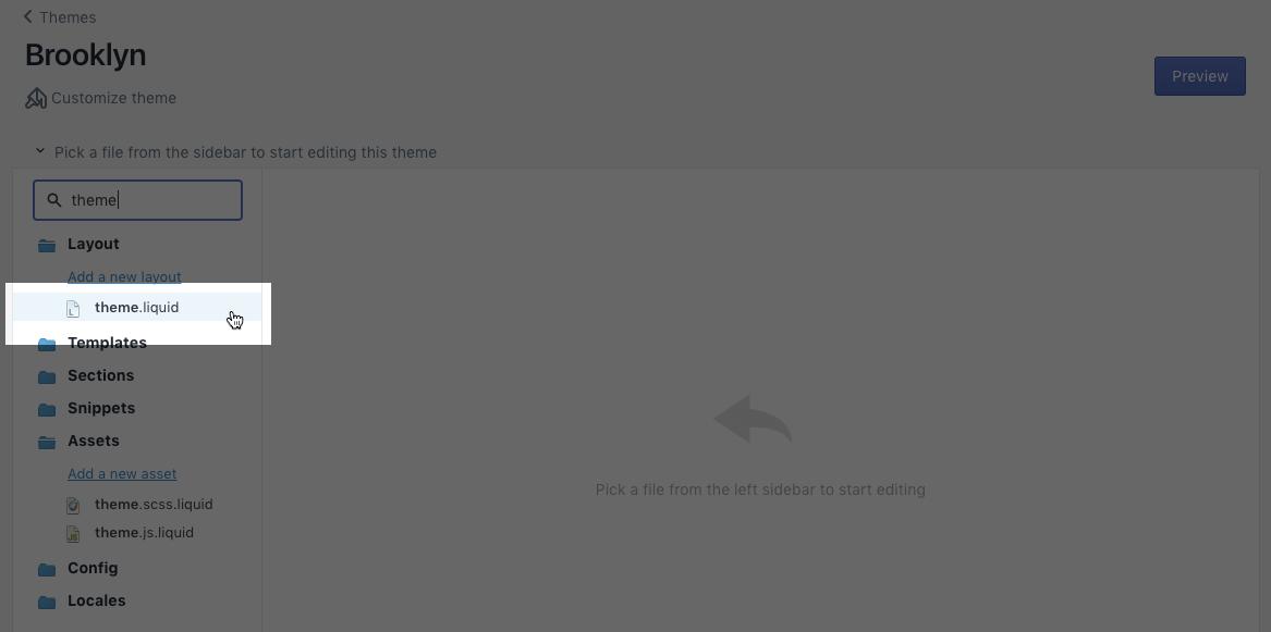 Manually Install klaviyo js for Shopify Stores – Klaviyo - Help Center