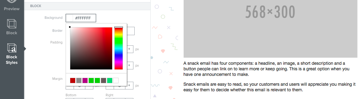 Add A Background Image To An Email Template Klaviyo Help Center