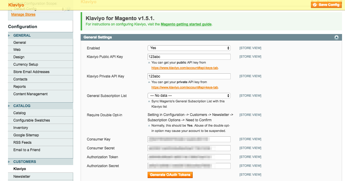 Set Up Coupons (for Magento 1 x) – Klaviyo - Help Center