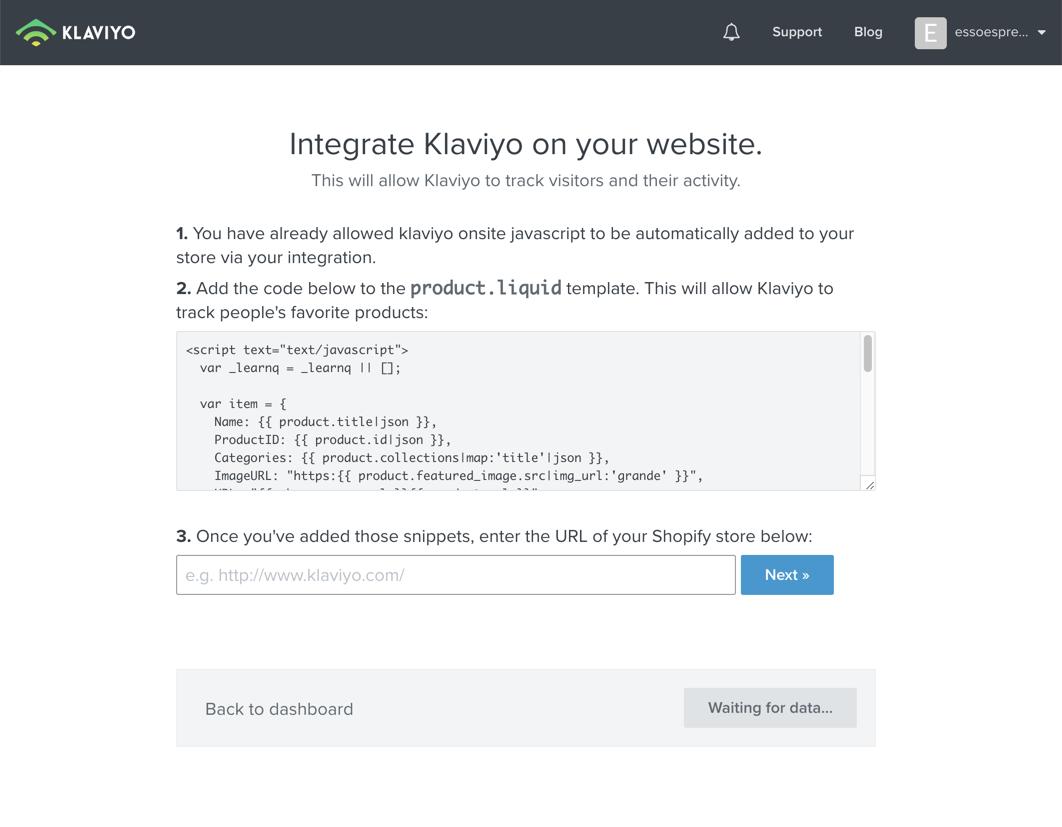 Integrate with Shopify – Klaviyo - Help Center