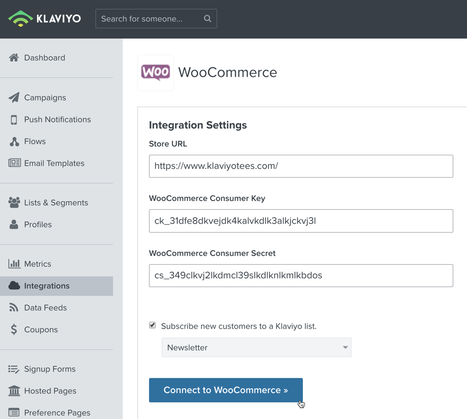 Integrate with WooCommerce – Klaviyo - Help Center