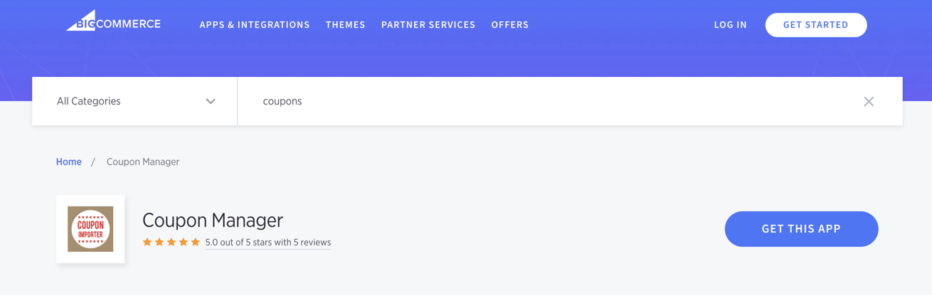 Using Coupons with BigCommerce – Klaviyo - Help Center